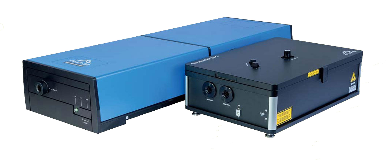 深紫外ピコ秒波⻑可変OPO システム Laser-ARPES (Levante Emerald+ HarmoniXX FHG)
