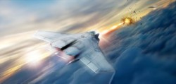 Lockheed Martin is helping the Air Force Research Lab develop and mature high energy laser weapon systems, including the high energy laser pictured in this rendering. Credit: Air Force Research Lab (PRNewsfoto/Lockheed Martin)