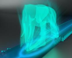 Light Blue Elephant Web