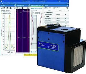 図4 BeamWatch AMは、レーザベース積層造形システム向けレーザビームパラメータ計測用に設計された組込みレーザ計測システム。1kWまで、すべての重要なレーザビームパラメータを測定する。AMマシンに適したコンパクト発ケージのレーザ出力測定器。